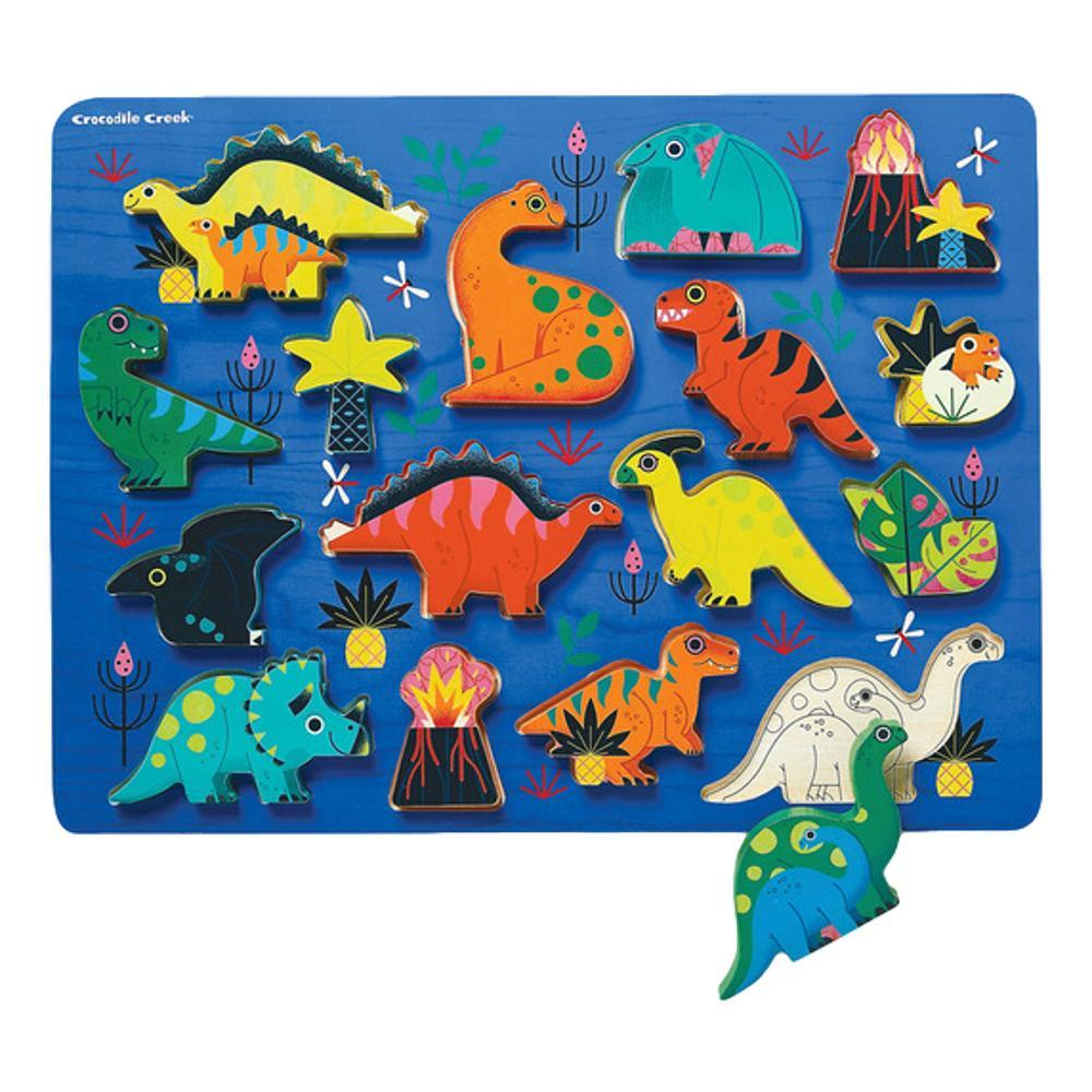 Crocodile Creek Let's Play Unicorn Garden 16pc Wood Puzzle 16PC