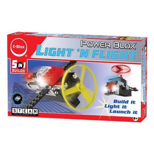 E-Blox Power Blox Light 'N Flight 5-in-1 Set