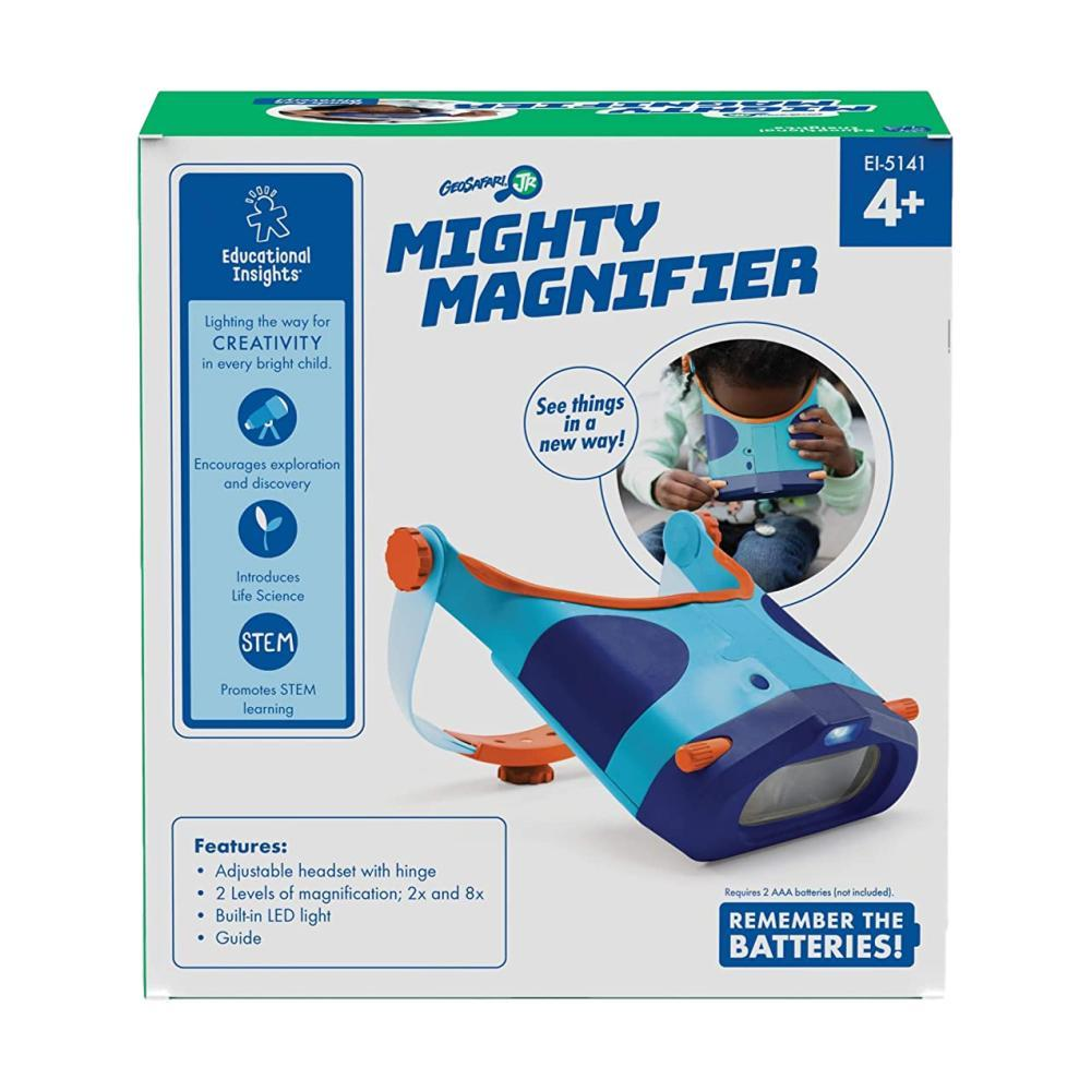 Educational Insights Geosafari Jr.Mighty Magnifier Glasses
