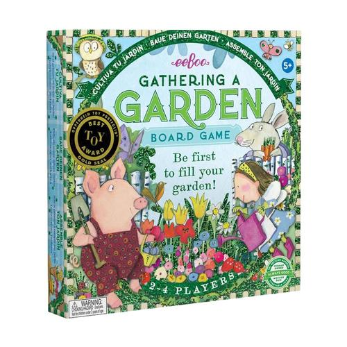 eeBoo Gathering a Garden Foil Game