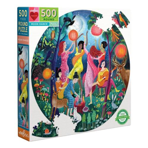 eeBoo Moon Dance 500 Piece Jigsaw Puzzle