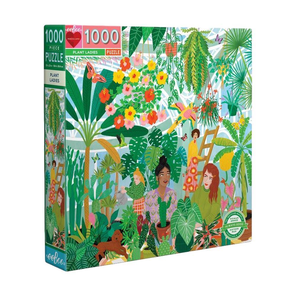 Eeboo Plant Ladies 1000 Piece Jigsaw Puzzle