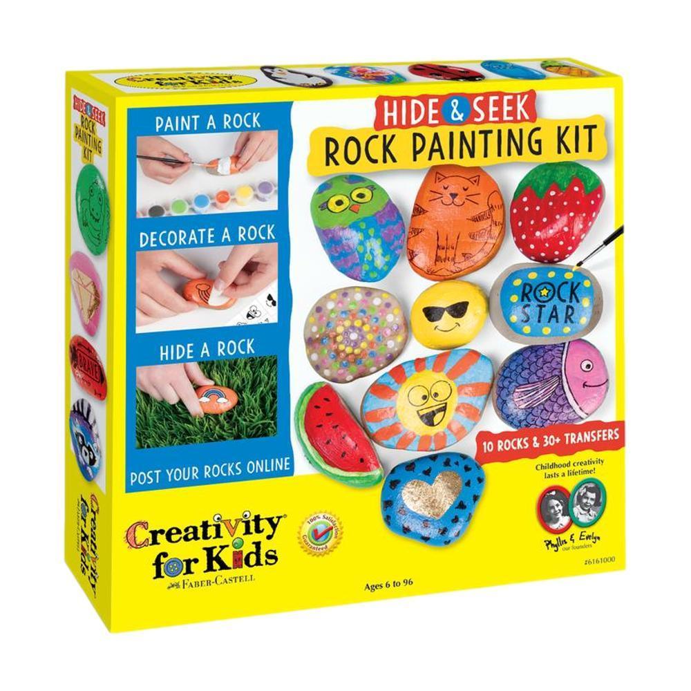 Faber- Castell Creativity For Kids Hide & Seek Rock Painting Kit