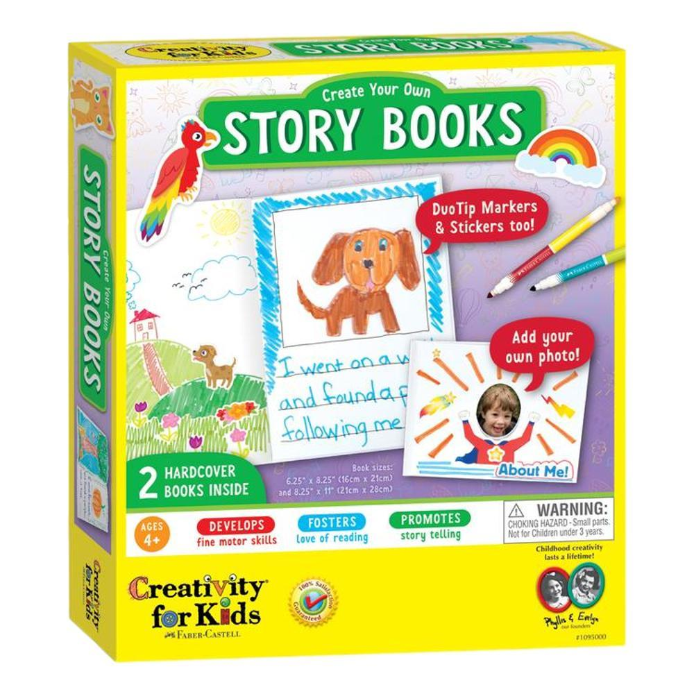 Faber- Castell Creativity For Kids Create Your Own Story Books Kit