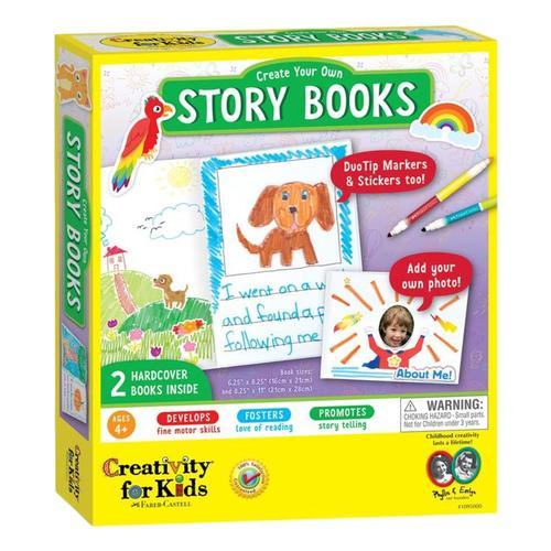 Faber-Castell Creativity for Kids Create Your Own Story Books Kit