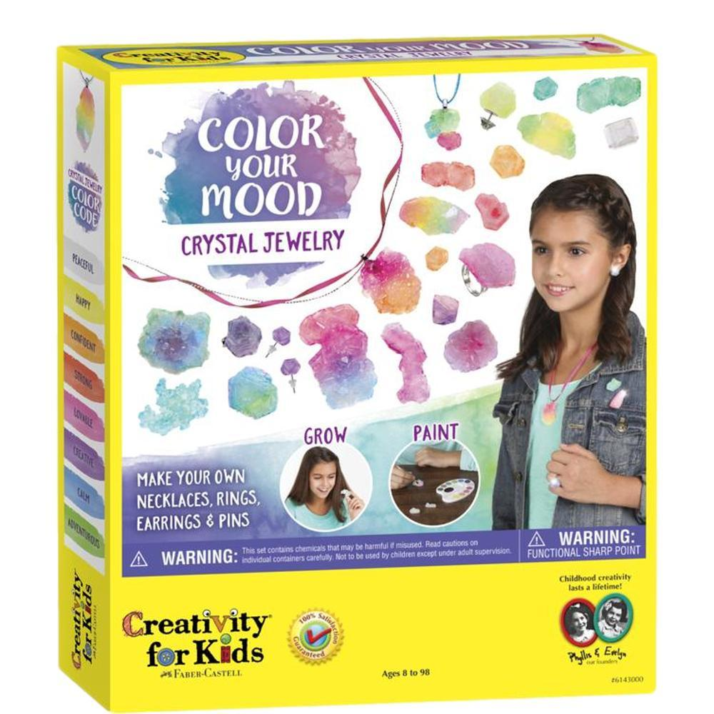 Faber- Castell Creativity For Kids Color Your Mood Crystal Jewelry Kit