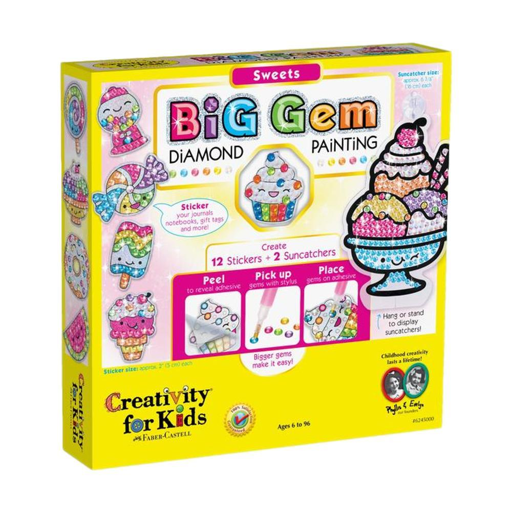 Faber- Castell Creativity For Kids Big Gem Diamond Painting Kit - Sweets
