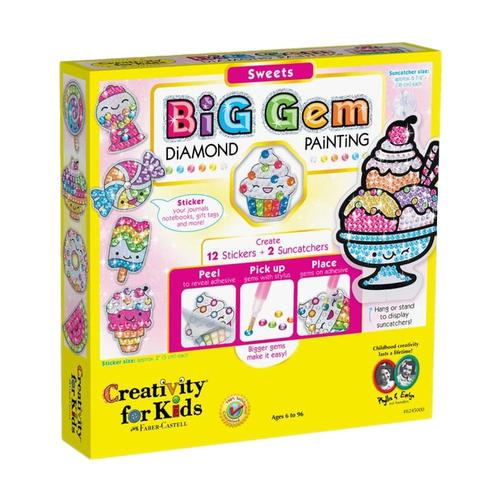 Faber-Castell Creativity for Kids Big Gem Diamond Painting Kit - Sweets