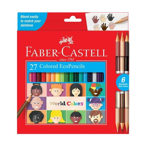 Faber-Castell World Colors EcoPencil Colored Pencil Set
