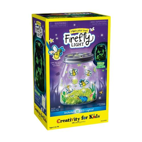 Faber-Castell Creativity for Kids Make Your Own Firefly Light Kit