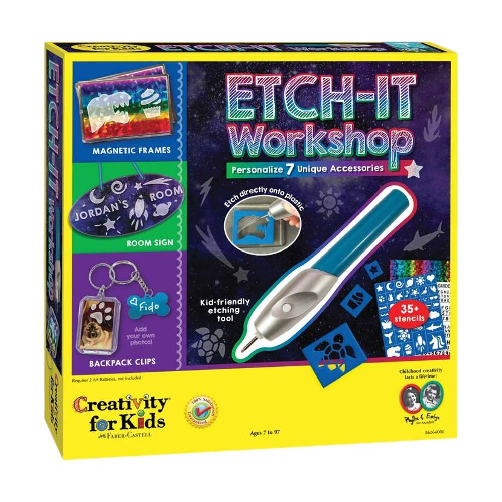Faber- Castell Creativity For Kids Etch- It Workshop Kit