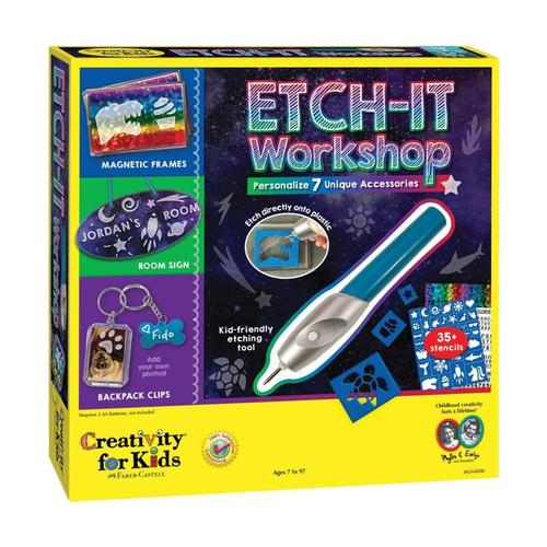 Faber-Castell Creativity for Kids Etch-It Workshop Kit