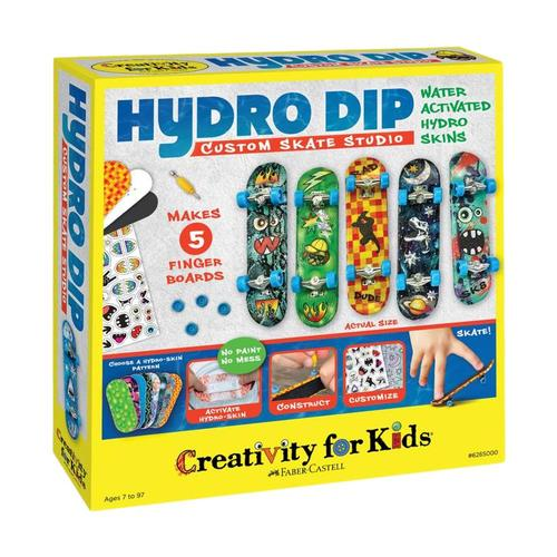 Faber-Castell Creativity for Kids Hydro-Dip Custom Skate Studio