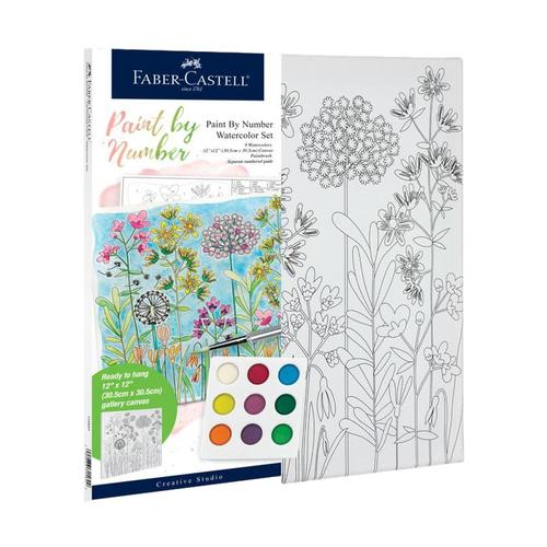 Faber-Castell Watercolor Paint by Number Set - Farmhouse