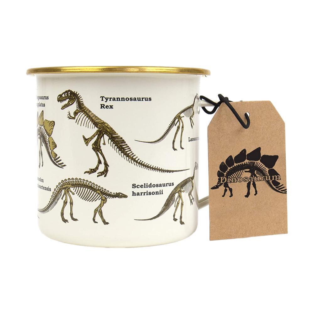 Gift Republic Dinosaur Enamel Mug
