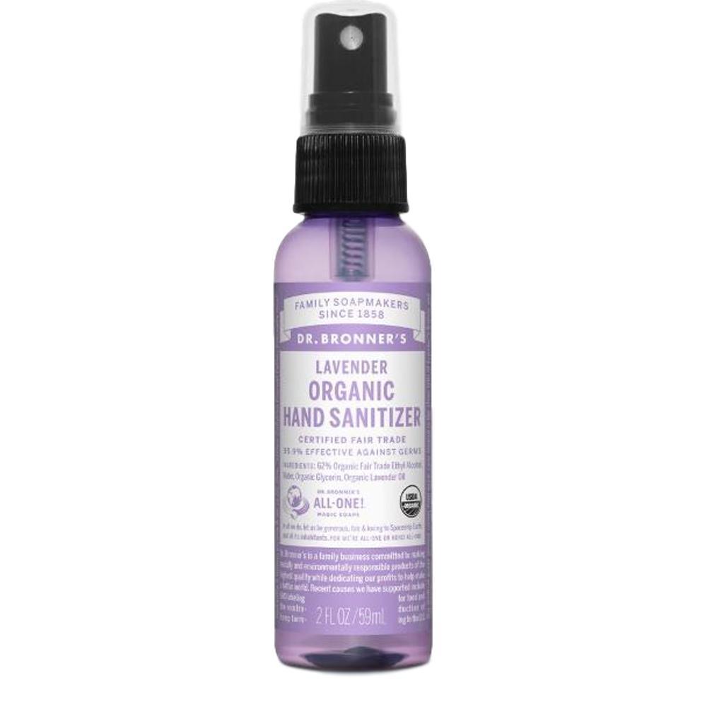 Dr. Bronner's Organic Hand Sanitizer - Lavender LAVENDAR
