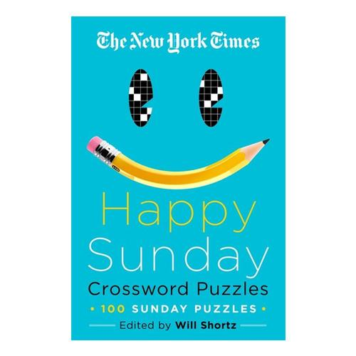 The New York Times Happy Sunday Crossword Puzzles by Will Shortz Newyorktimes