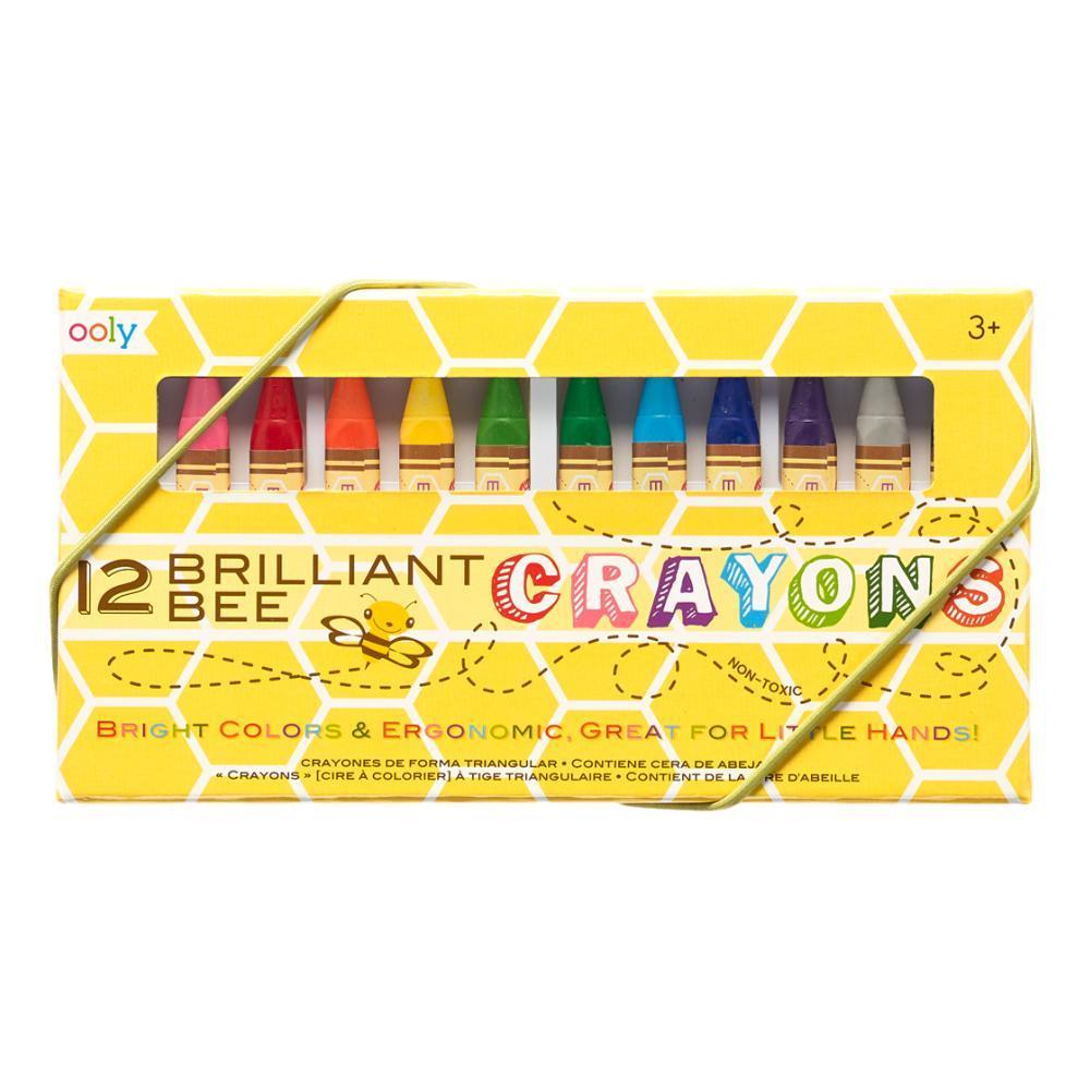 Ooly Brilliant Bee Crayons - Set of 12 SETOF12