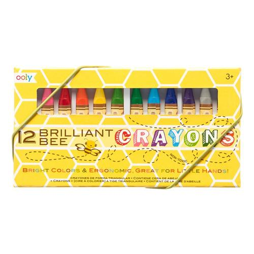 Ooly Brilliant Bee Crayons - Set of 12 Setof12