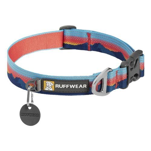 Ruffwear Crag Reflective Dog Collar - 11in-14in Sunset