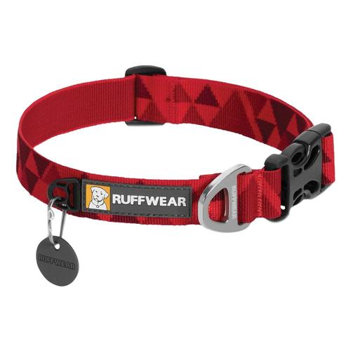 Ruffwear Hoopie Collar - 14in-20in Red_butte