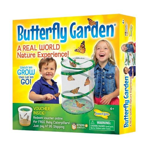 Insect Lore Butterfly Garden with Voucher Holiday Special
