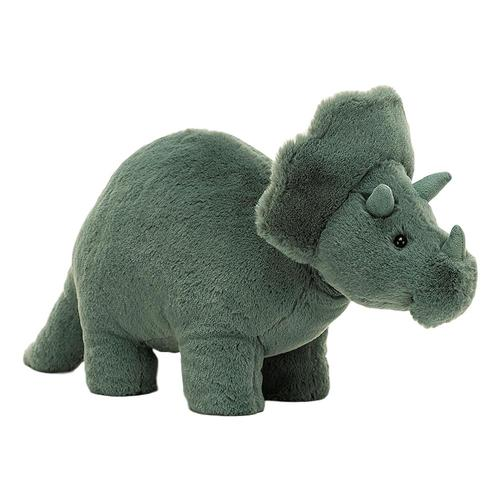 Jellycat Fossilly Triceratops Stuffed Animal