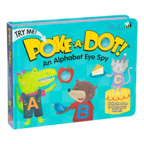 Melissa & Doug Poke-A-Dot: Alphabet Eye Spy