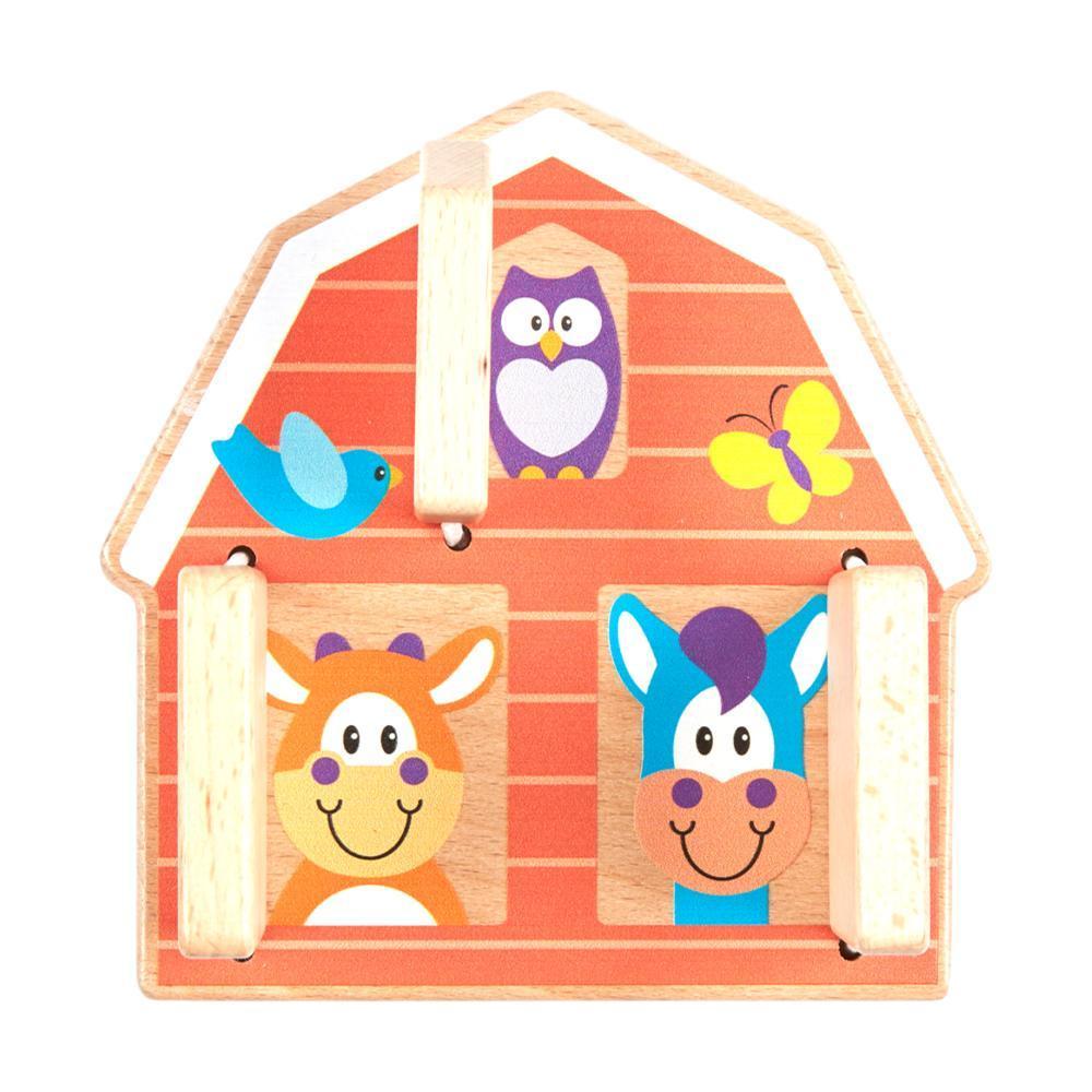 Melissa & Doug First Play Peek- A- Boo Farm