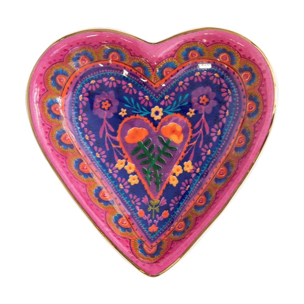 Natural Life Heart Trinket Bowl