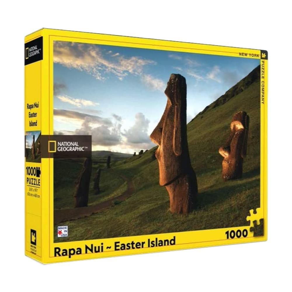 New York Puzzle Company National Geographic Rapa Nui Easter Island Jigsaw Puzzle