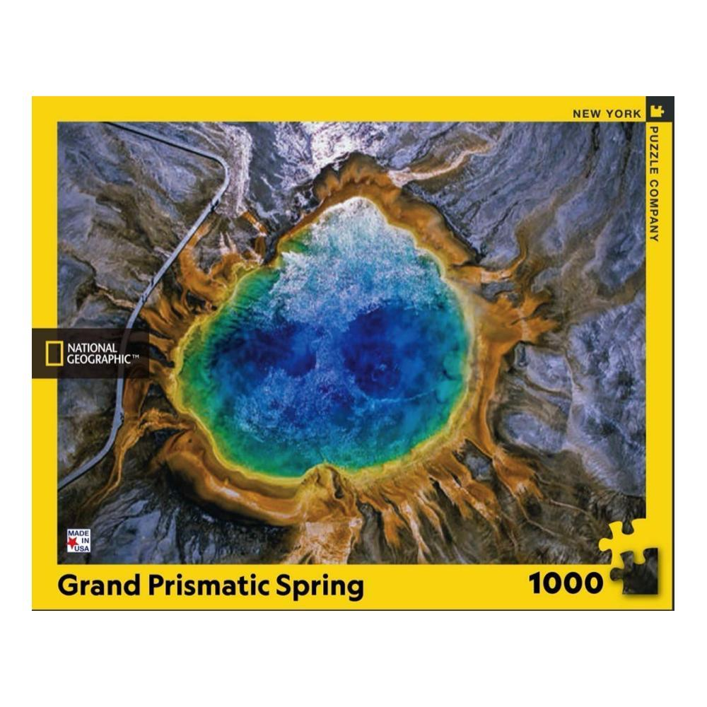New York Puzzle Company National Geographic Grand Prismatic Spring Jigsaw Puzzle