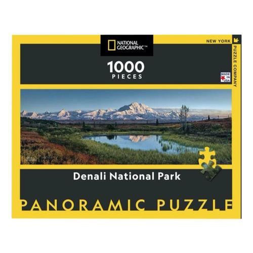 New York Puzzle Company National Geographic Denali National Park Jigsaw Puzzle