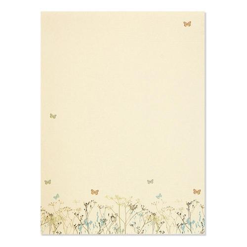 Peter Pauper Press Butterflies Stationery Set