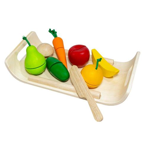 PlanToys Assorted Fruit & Vegetable Set