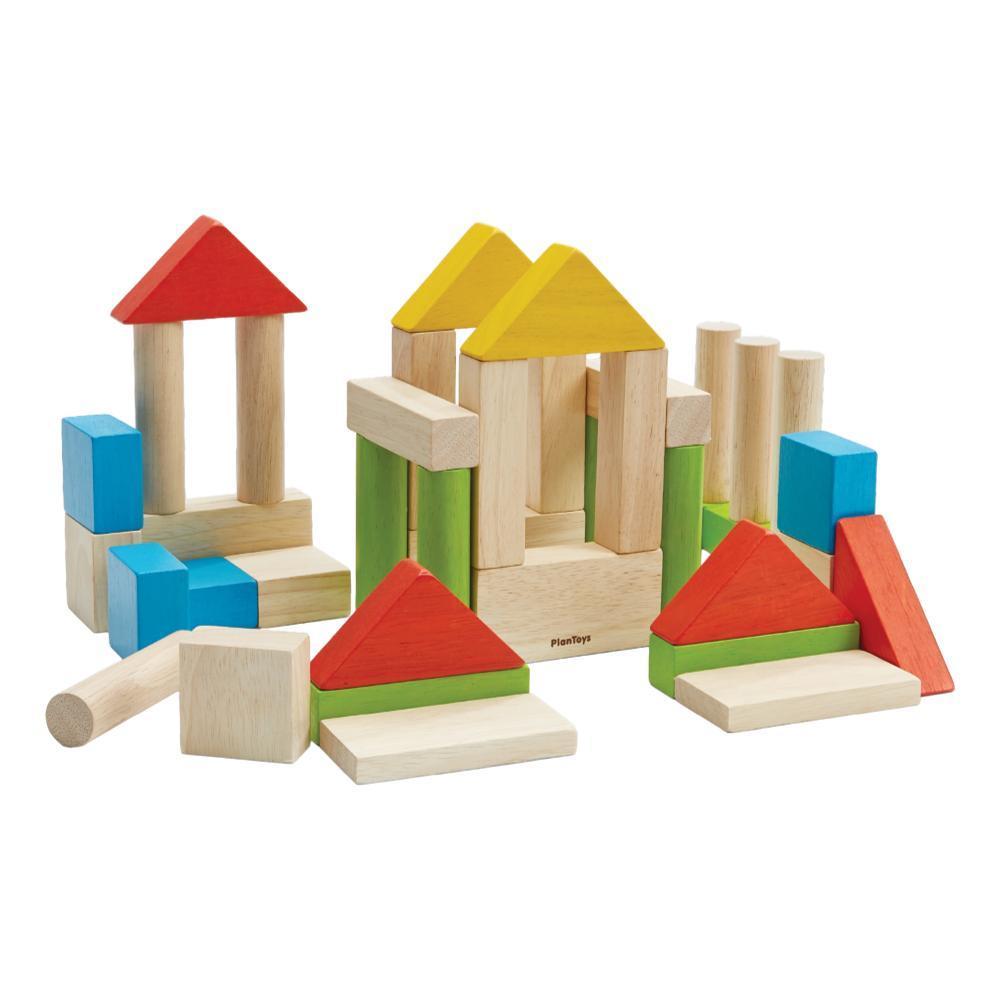 Plantoys Colorful 40 Unit Blocks