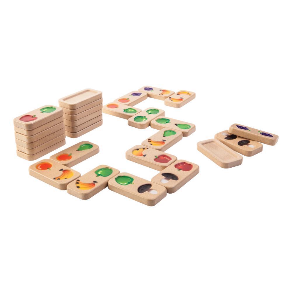 Plantoys Fruit & Veggie Domino Set