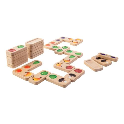 Plan Toys Fruit & Veggie Domino Set