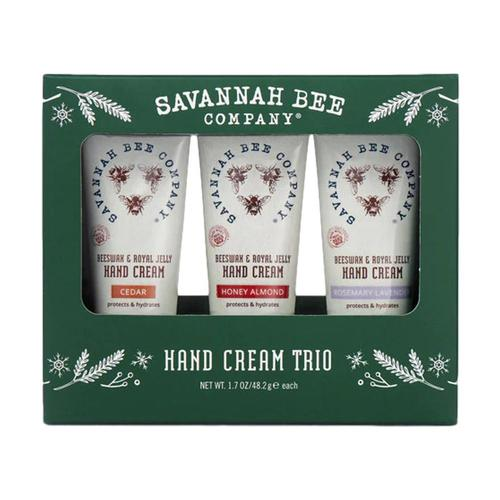 Savannah Bee Company Hand Cream Tube Trio