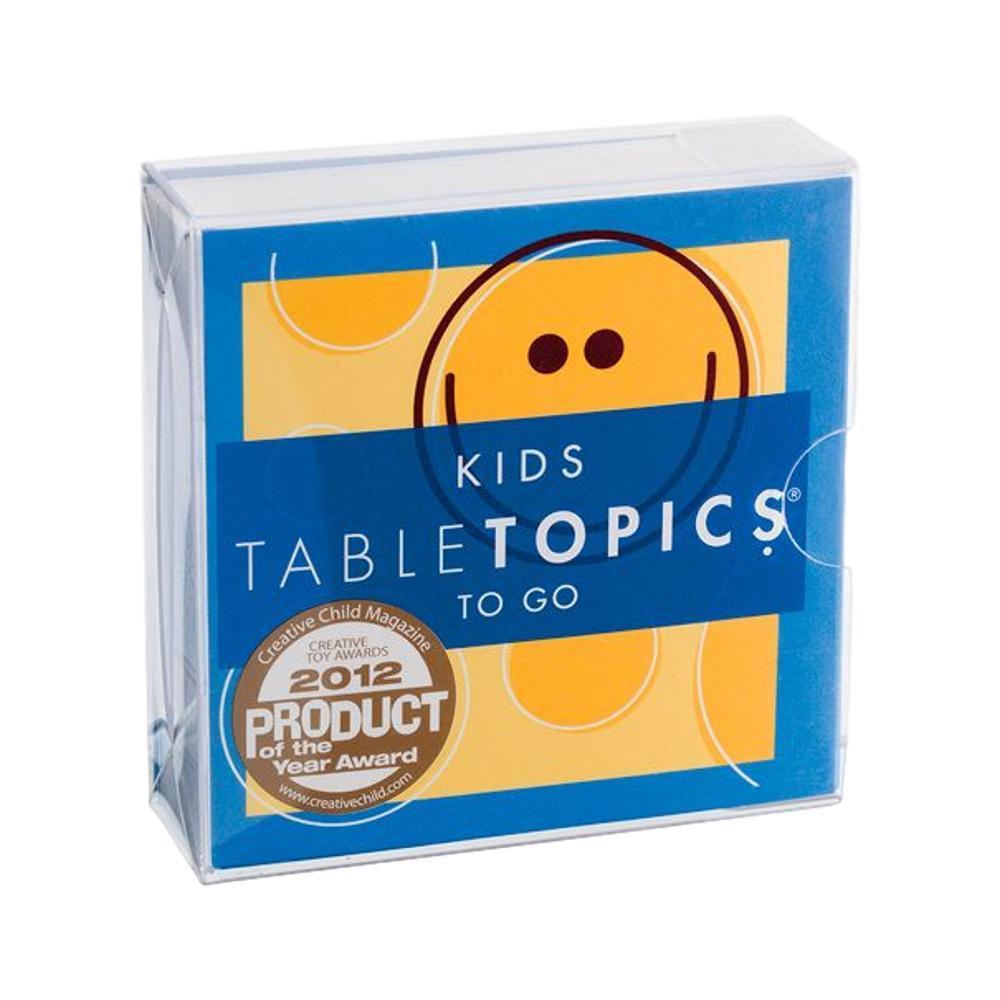 Table Topics To Go Kids