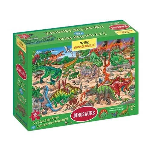 My Big Wimmelpuzzle - Dinosaurs Floor Jigsaw Puzzle