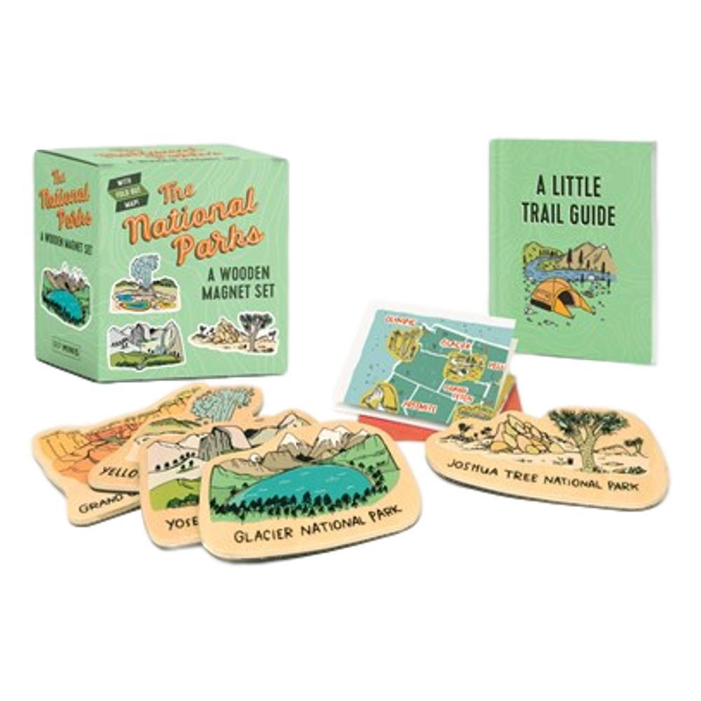 The National Parks : A Wooden Magnet Set
