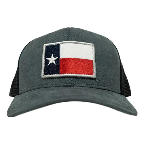 Tumbleweed Texstyles Texas Flag Trucker Hat Indigo