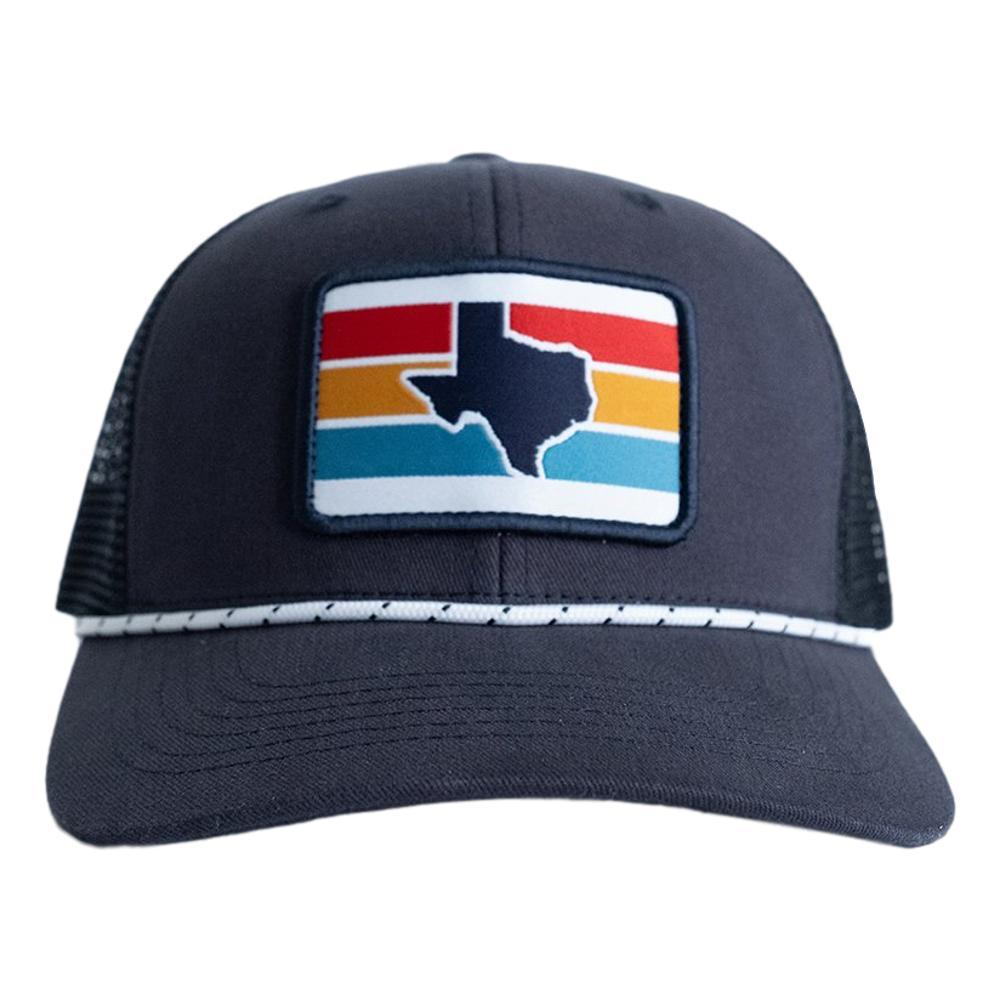 Tumbleweed Texstyles Texas Stripes Patch Trucker Hat NAVY