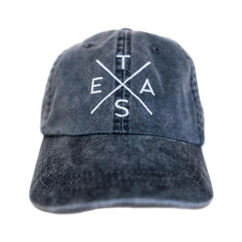 Tumbleweed Texstyles Big X Texas Washed Cotton Twill Hat Navy