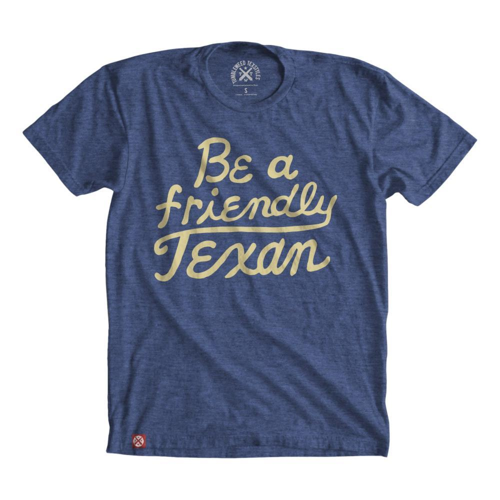 Tumbleweed Texstyles Unisex Friendly Texan T-Shirt ROYAL