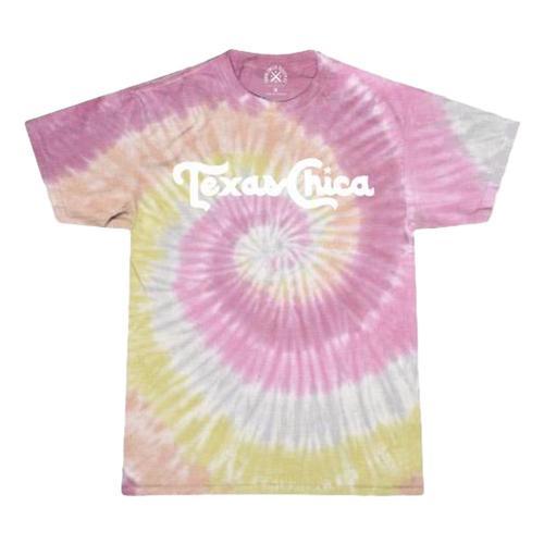 Tumbleweed Texstyles Women's Texas Chica T-Shirt - Tie Dye Tiedye
