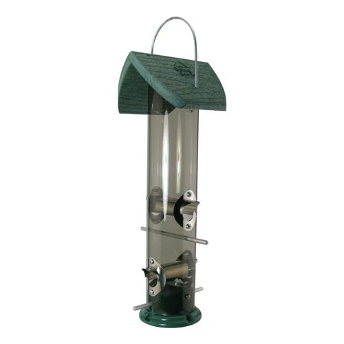 Woodlink Going Green 2# Mixed Seed Tube Feeder Recycled
