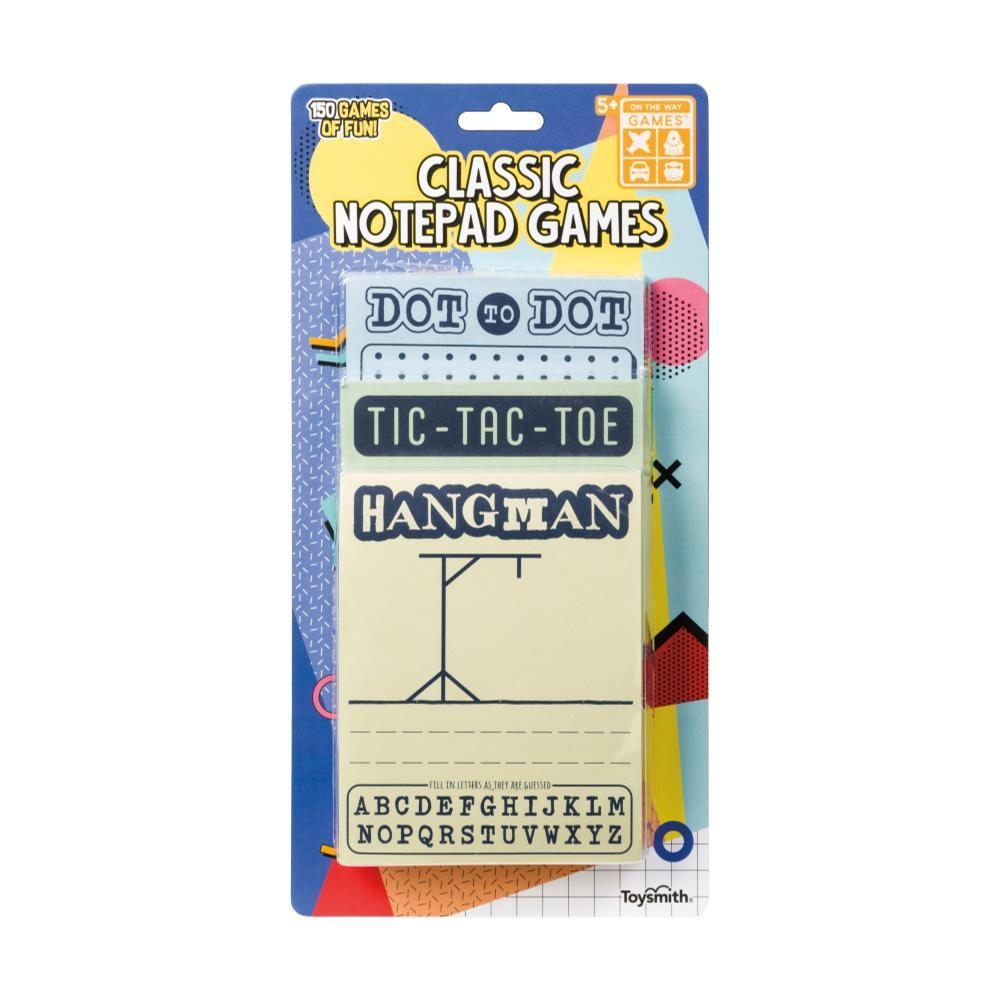 Toysmith Classic Notepad Games