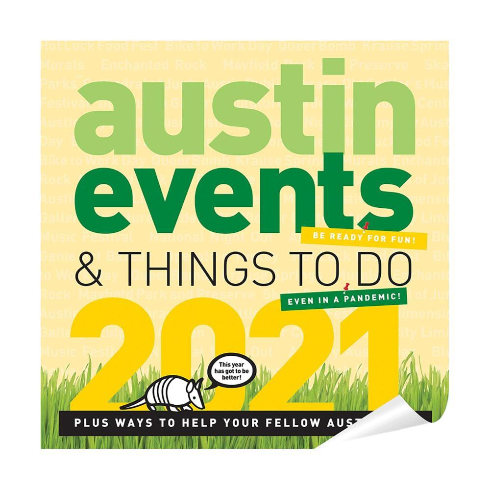 Austin Events Wall Calendar 2021 2021